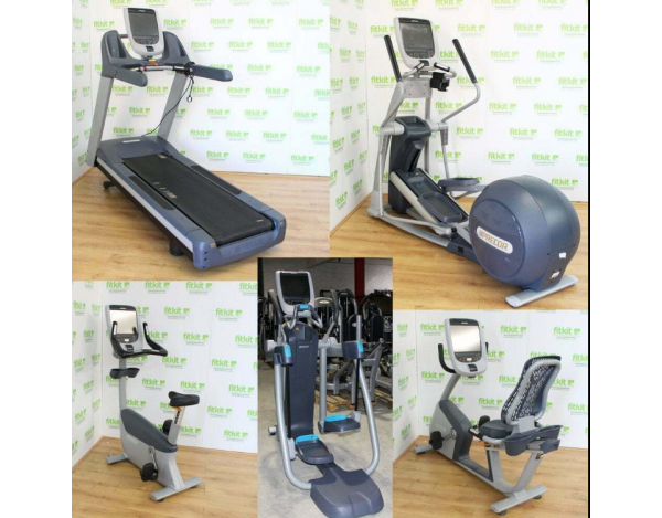 PRECOR SERIE 885 LOT DE 5 MACHINES CARDIO TRAINING -MATÉRIEL PROFESSIONNEL D'OCCASION