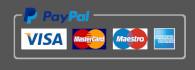 Paiement Paypal - CB - VISA - MASTERCARD